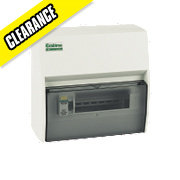 Crabtree 7-Way Fully Insulated RCD Board Consumer Unit
