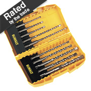 DeWalt Extreme 2 SDS Plus Drill Set 10Pcs