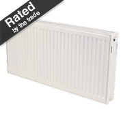 Kudox Premium Type 22 Double Panel Double Convector Radiator White 500x1100