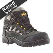 Site Granite Safety Trainers Boots Dark Grey Size 8