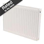 Kudox Premium Type 21 Double Panel Plus Convector Radiator White 600x600mm