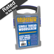 Goldscrew Woodscrews Trade Case Grab Pack 1000 Pieces