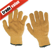 Keepsafe Criss Cross Gripper Gloves Orange Large