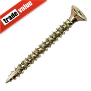 TurboGold Double Countersunk Screws 6 x 80mm Pack of 100