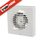 Manrose XF100H 20W Axial Bathroom Fan