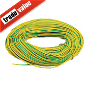 PVC Sleeving 3mm x 100m Green/Yellow
