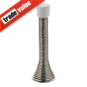 Projection Door Stop Chrome-Plated Pack of 10