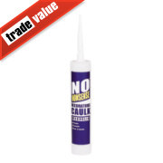 No Nonsense Decorators' Caulk Magnolia 310ml