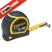 Stanley Tape Measure 8m 26ft