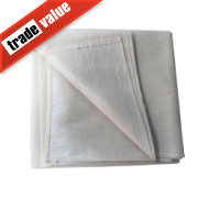 No Nonsense Poly-Backed Dust Sheet 24' x 3'