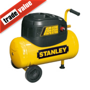 Stanley 8216035SCR011 24Ltr Compressor with 5 Piece Accessory Kit 240V
