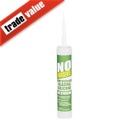 No Nonsense Glazing Silicone White 310ml