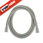 Swirl Shower Hose Flexible Stainless Steel 16mm x 1.75m