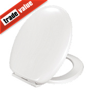 MTCU-19 Soft-Close Toilet Seat Duraplast White