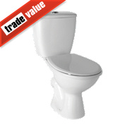 Toilet-to-Go Close Coupled Toilet Dual Flush 6Ltr