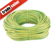 PVC Sleeving 4mm x 100m Green/Yellow