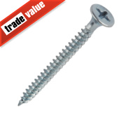 Easydrive BZP Bugle Head Fine Thread Drywall Screws 3.5 x 42mm Pk1000