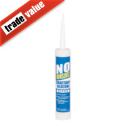 No Nonsense Sanitary Silicone Clear 310ml