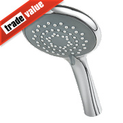 Triton Multi-Mode 5-Position Shower Head Multi-Position Chrome 90 x 210mm