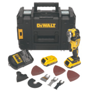 DeWalt DCS355D2-GB 18V 2.0Ah Li-Ion Cordless Multi-Tool XR Brushless Motor