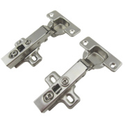 Soft Close Clip-On Concealed Hinges 110° 35mm Pack of 2