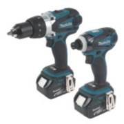 Makita DLX2005M 18V 4.0Ah Li-Ion Cordless Twin Pack