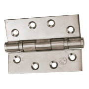 Eclipse Grade 11 Ball Bearing Hinges Polished Stainless Steel 102 x 76mm Pack of 2
