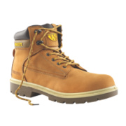 Worksite Scaffold Safety Boots Dark Honey Size 7