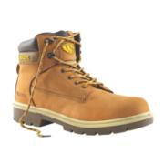 Worksite Scaffold Safety Boots Dark Honey Size 10