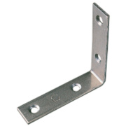 Corner Braces Zinc-Plated 51.5 x 51.5 x 16.35mm Pack of 10