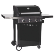 Grillstream 3-Burner Gas Barbecue with Barbecue Starter Pack