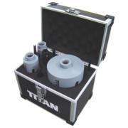 Titan Diamond Core Drill 8 Piece Set