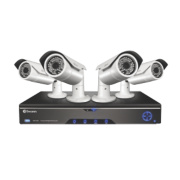 Swann HDR4-8200 4-Channel CCTV DVR Kit with 4 Cameras