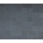 Natural Stone Whitchurch Black Lime Sandstone Patio Kit 11.52m²