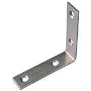 Corner Braces Zinc-Plated 76.5 x 76.5 x 16.5mm Pack of 10