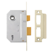 Yale 2-Lever Mortice Sashlock Polished Brass 3