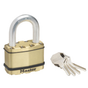 Master Lock Excell Laminated Padlock 64mm