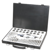 HSS Steel Tap and Die Set 51Pc