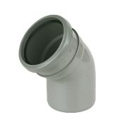 135° Bend Single Socket Grey SP163