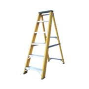Lyte GFBB6 Swingback Builders Step Ladder Fibreglass 6-Tread 1.26m