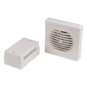 Manrose XF100LVT/SC 20W Axial Bathroom Fan