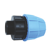 FloPlast MDPE Male Adaptor 25mm x ¾