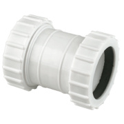 Universal Compression Waste Straight Couplers 32mm