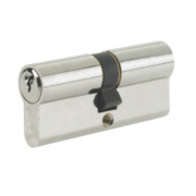 Yale -Pin Euro Double Cylinder Lock 35-35 (90mm) Nickel-Plated
