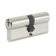 Yale -Pin Euro Double Cylinder Lock 30-40 (90mm) Nickel-Plated