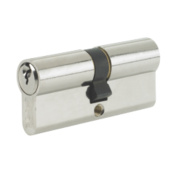 Yale -Pin Euro Double Cylinder Lock 35-45 (100mm) Nickel-Plated