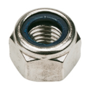 Nylon Lock Nuts A2 Stainless Steel M12 Pack of 100