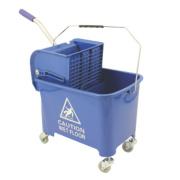 Mobile Mop Bucket Blue 20Ltr