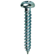 Quicksilver Twin Thread Roundhead Prodrive Recess Woodscrews 6 x 1