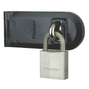 Master Lock 140mm Hasp & Staple with Padlock